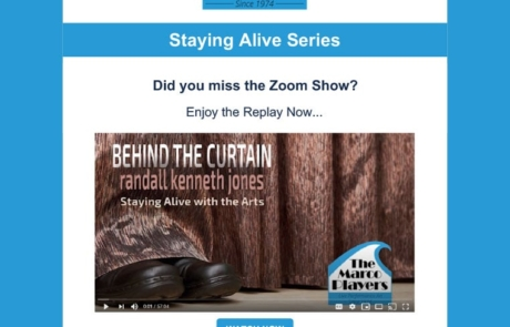 Email Marketing - The Marco Players Theater