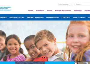 Greater Marco Family YMCA Website by Paradise Web
