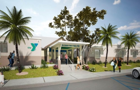 Marco Island YMCA Exterior of New Building