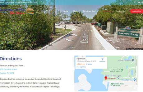 SEO and Analytics Defender of Fun Tiki Tours Paradise Web Marketing Services