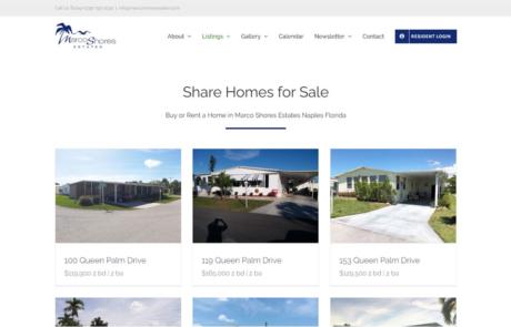 Listing Integration & Setup | Marco Shore Estates