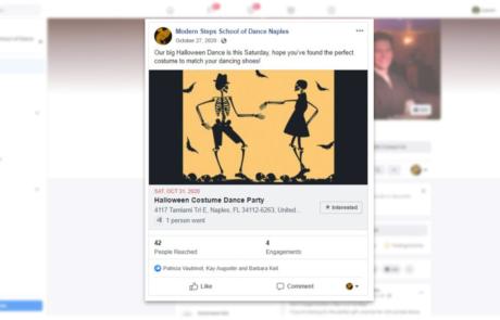 Facebook Management - Modern Steps School of Dance